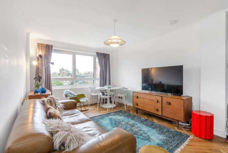 2 Bedrooms Flat for sale in Whitlock Drive, Southfields, SW19