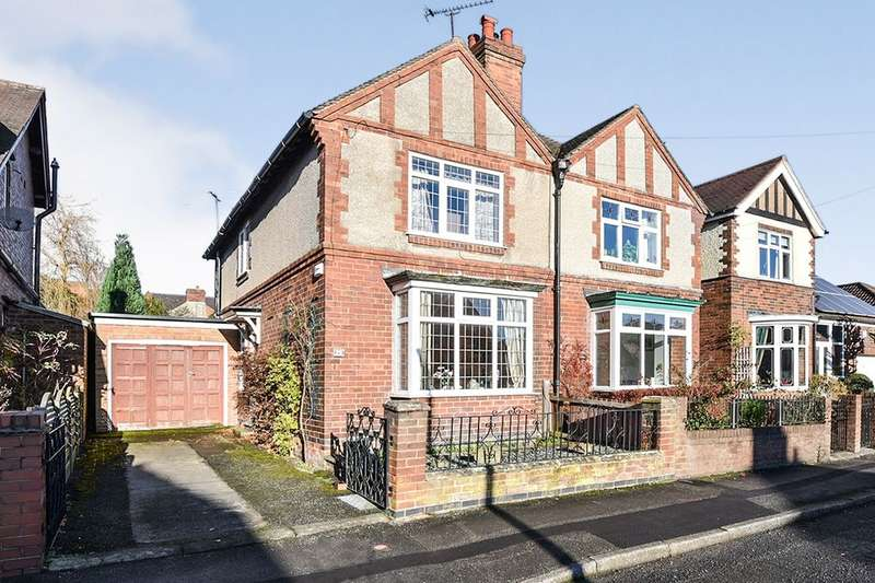 2 Bedrooms Semi Detached House for sale in Manvers Street, Ripley, DE5