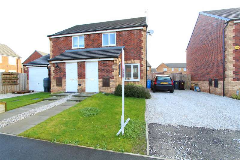 2 Bedrooms Semi Detached House for sale in Ashton Way, Huyton, Liverpool