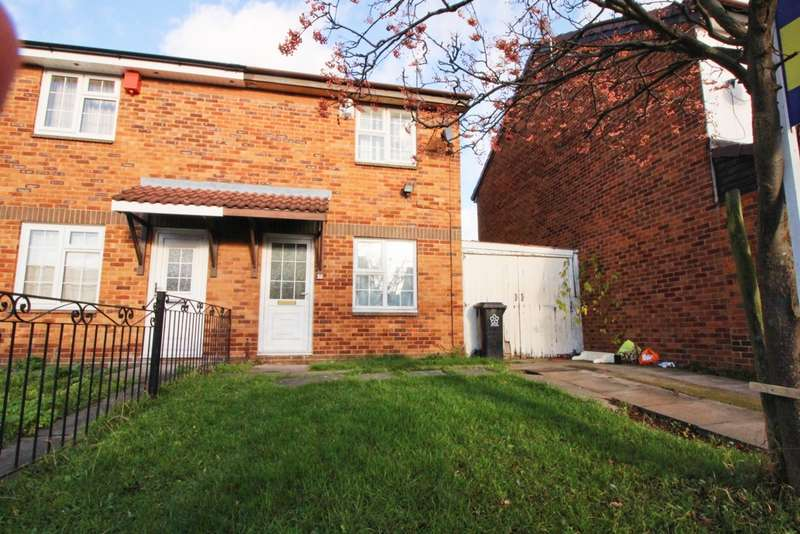 2 Bedrooms Semi Detached House for sale in Brewer Close, Leicester, LE4