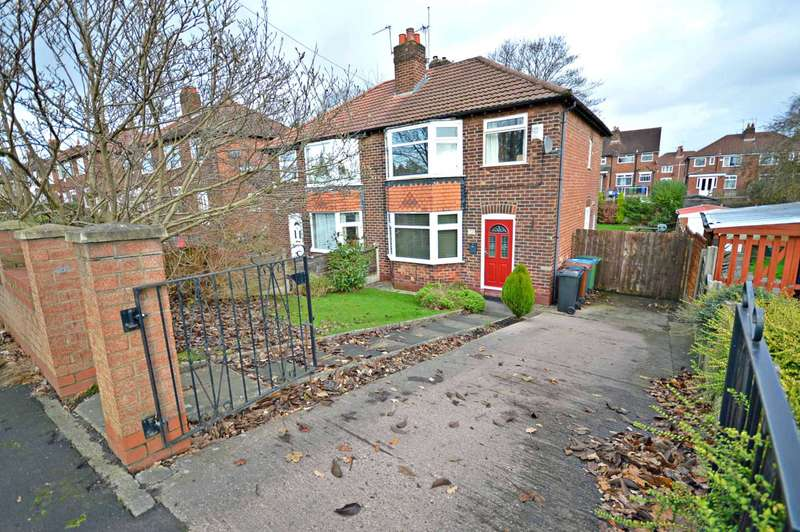 3 Bedrooms Semi Detached House for sale in Birdhall Road, Cheadle Hulme