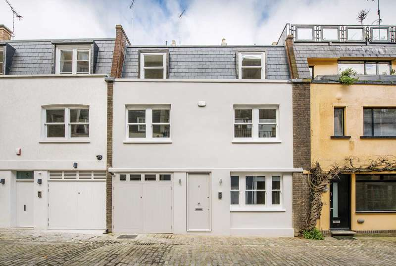 3 Bedrooms Mews House for sale in Leinster Mews, Bayswater W2