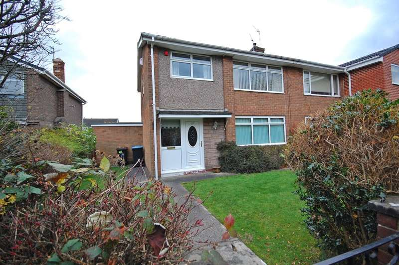 3 Bedrooms Semi Detached House for sale in Warkworth Road, Newton Hall, Durham
