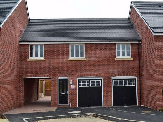 2 Bedrooms Maisonette Flat for rent in Cherry Orchard Place, Northampton
