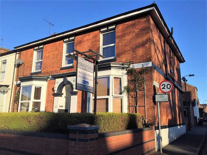 11 Bedrooms Guest House Commercial for sale in Brayford Guesthouse, Carholme Road, Lincoln.