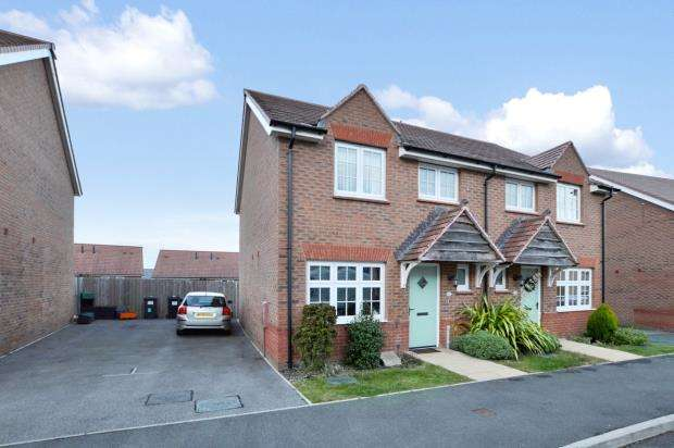 3 Bedrooms Semi Detached House for sale in Meadow Rise, Newton Abbot, Devon