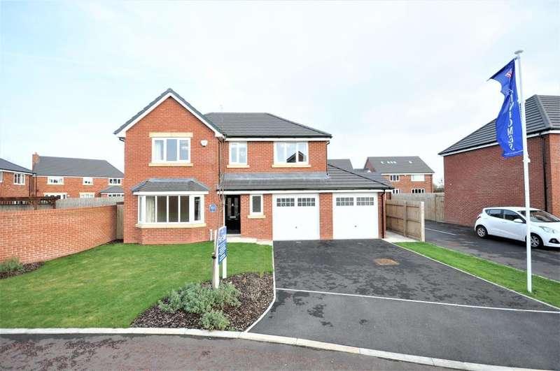 4 Bedrooms Detached House for sale in The Eton, The Fieldings, Richmond Avenue, Wrea Green, Preston, Lancashire, PR4 2NJ