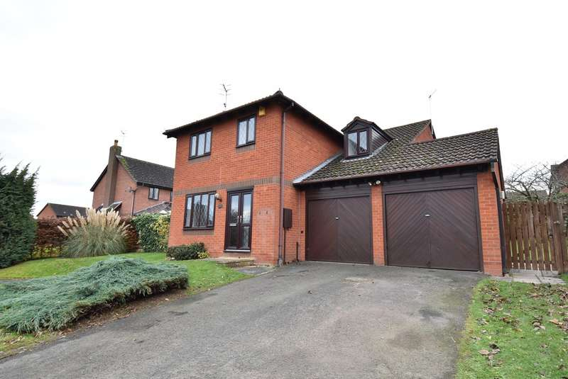 4 Bedrooms Detached House for sale in Shirley Jones Close, Droitwich, WR9