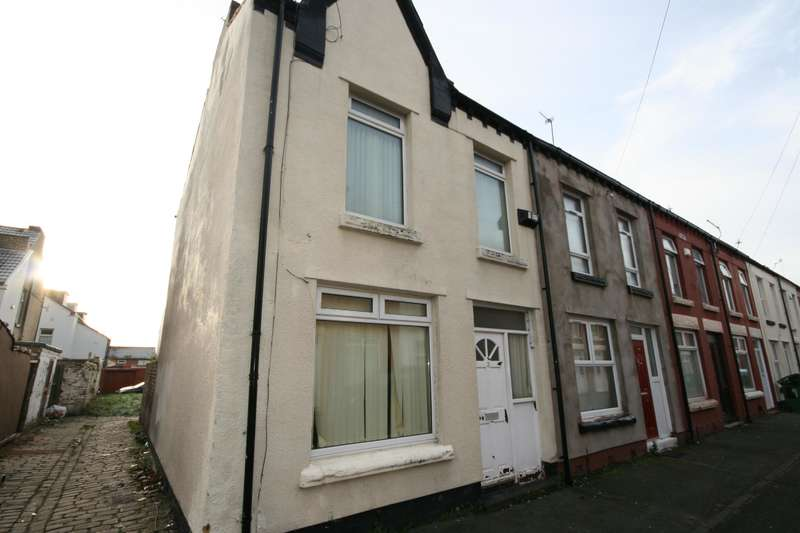 2 Bedrooms End Of Terrace House for sale in Naples Road, Wallasey, CH44 7HJ