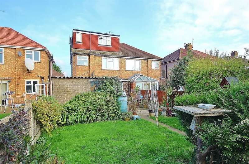 4 Bedrooms Semi Detached House for sale in Ryefield Avenue, Hillingdon, UB10 9BY