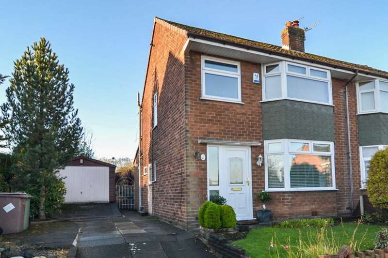 3 Bedrooms Semi Detached House for sale in Windsor Avenue, Newton Le Willows