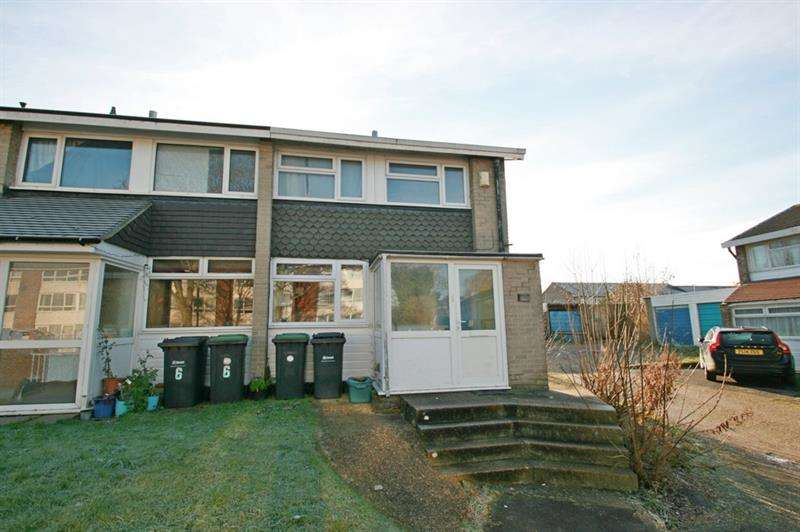 2 Bedrooms End Of Terrace House for sale in Chidham Square, Havant