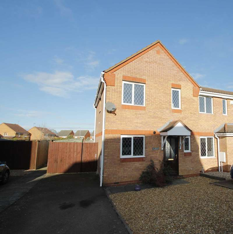 3 Bedrooms End Of Terrace House for sale in Daffodil Drive, Rushden