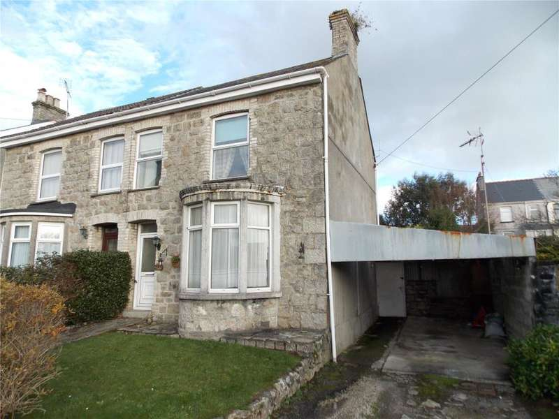 3 Bedrooms Semi Detached House for sale in Victoria Road, St Austell