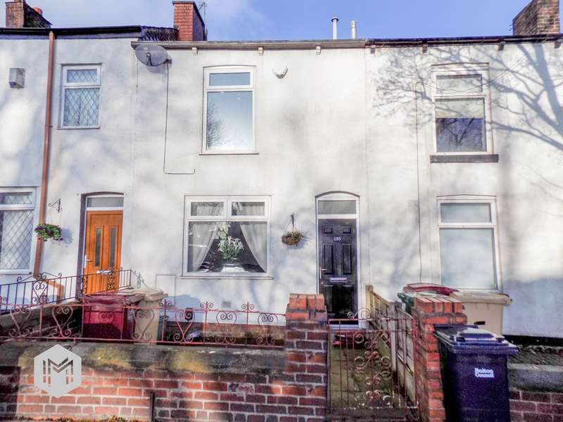2 Bedrooms Terraced House for sale in Plodder Lane, Farnworth, Bolton, BL4