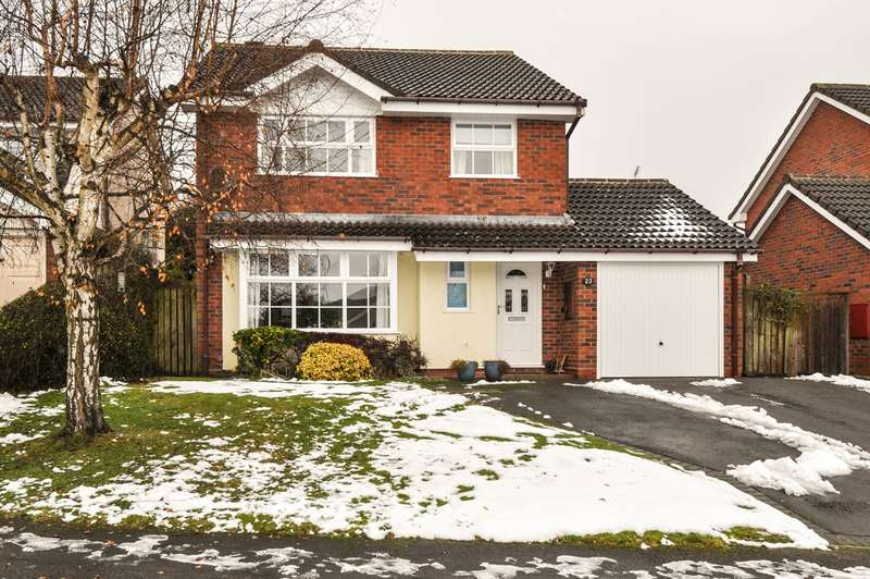 4 Bedrooms Detached House for sale in Didcot Close, Hunt End, Redditch, B97