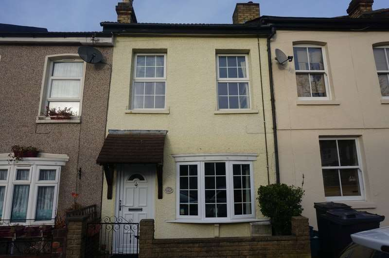 2 Bedrooms Terraced House for sale in Bynes Road, South Croydon, London, CR2