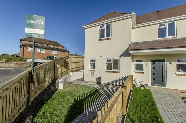 2 Bedrooms End Of Terrace House for sale in Nightingale Avenue, EASTLEIGH, Hampshire