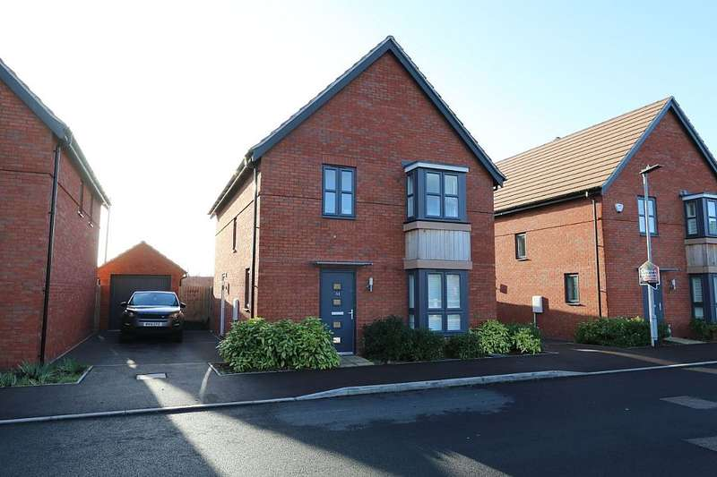4 Bedrooms Detached House for sale in Denman Avenue, Cheltenham, Gloucestershire, GL50 4GH