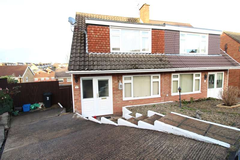 3 Bedrooms Semi Detached House for sale in The Spinney, Newport, NP20