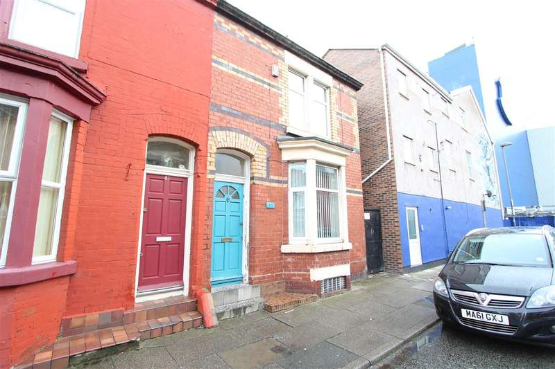 2 Bedrooms End Of Terrace House for sale in Oxton Street, Walton, Liverpool