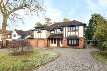 5 Bedrooms Detached House for sale in Longdon Wood, Keston Park
