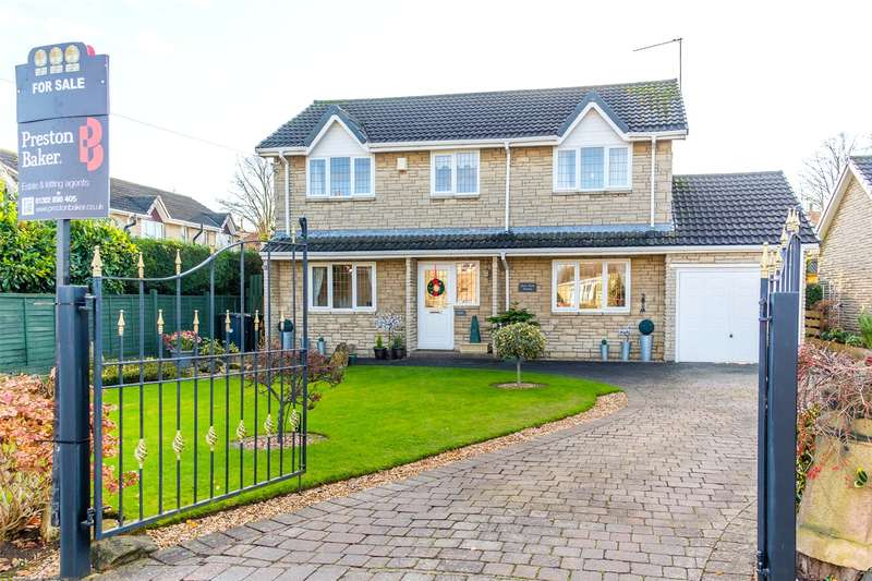 4 Bedrooms Detached House for sale in Teeside Close, Doncaster, DN5
