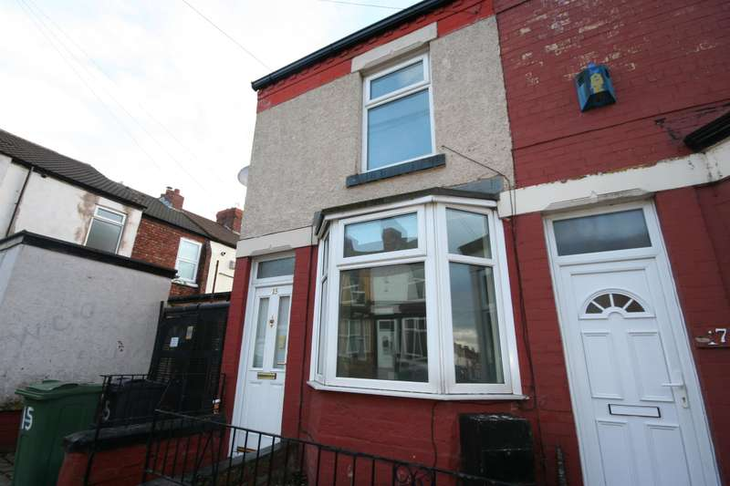 2 Bedrooms End Of Terrace House for sale in Harrowby Road, Birkenhead, CH42 7HS