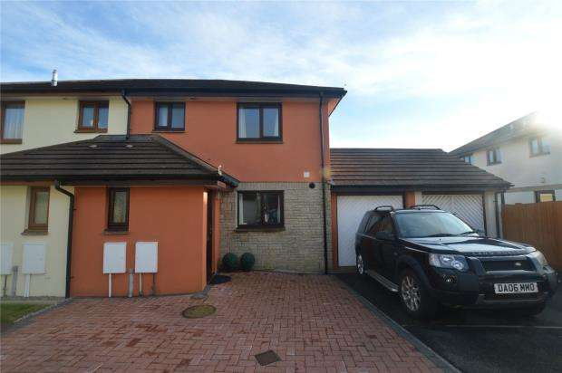 3 Bedrooms Semi Detached House for sale in Treveth Lane, Helston, Cornwall