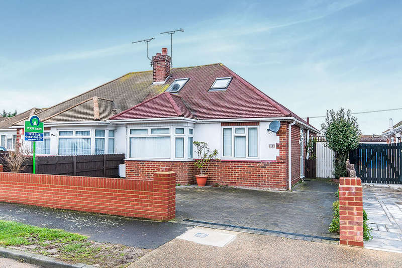 3 Bedrooms Semi Detached Bungalow for sale in Gloucester Avenue, Broadstairs, CT10