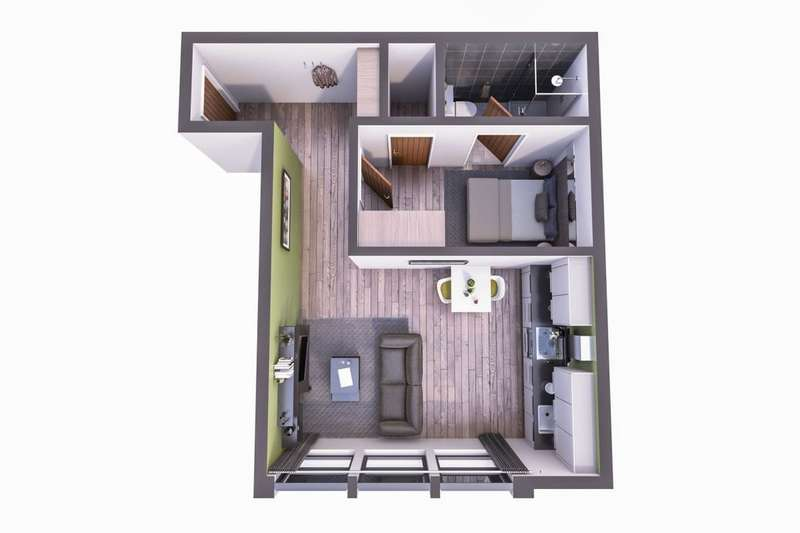 1 Bedroom Flat for sale in Well Street, Bradford, BD1