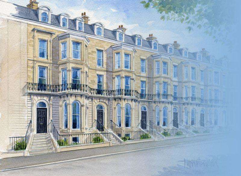 1 Bedroom Apartment Flat for sale in Esplanade Gardens, South Cliff, Scarborough, North Yorkshire YO11 2AW
