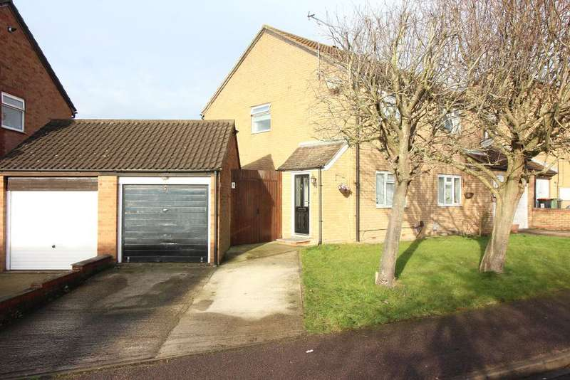 2 Bedrooms Semi Detached House for sale in Conway Close, Houghton Regis, Bedfordshire, LU5 5SE