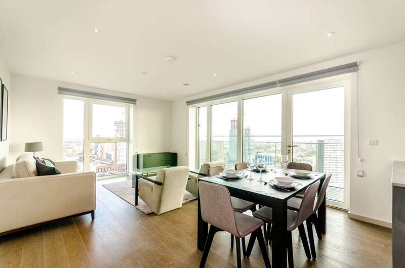 3 Bedrooms Penthouse Flat for rent in Lantana Heights, Stratford, E20
