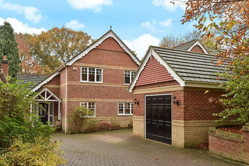 4 Bedrooms Detached House for sale in Edgbarrow Rise, Sandhurst, GU47