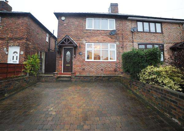 2 Bedrooms Semi Detached House for sale in 91 Fiddlers Lane, Irlam M44 6HN