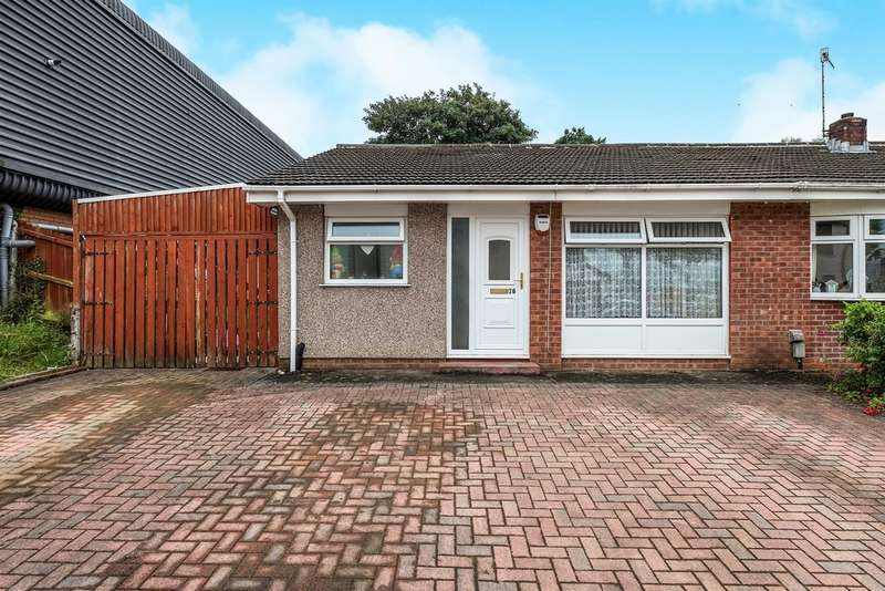 2 Bedrooms Semi Detached Bungalow for sale in Heol Bedwas, Birchgrove, Swansea