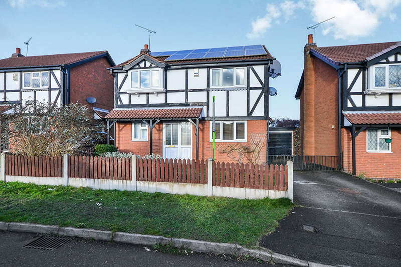 4 Bedrooms Detached House for sale in Buckingham Close, Kirkby-In-Ashfield, Nottingham, NG17