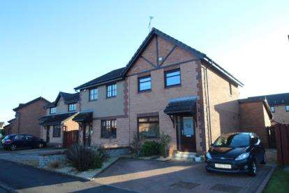 3 Bedrooms Semi Detached House for sale in Caltrop Place, Stirling