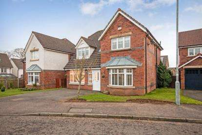 4 Bedrooms Detached House for sale in Porter Drive, Kilmarnock, East Ayrshire