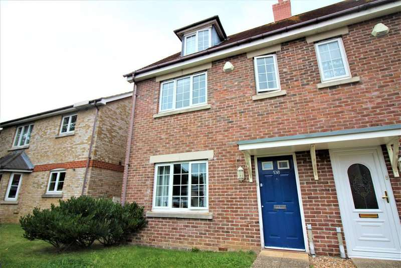 3 Bedrooms Semi Detached House for rent in Newstead Road, Weymouth, DT4 0AR