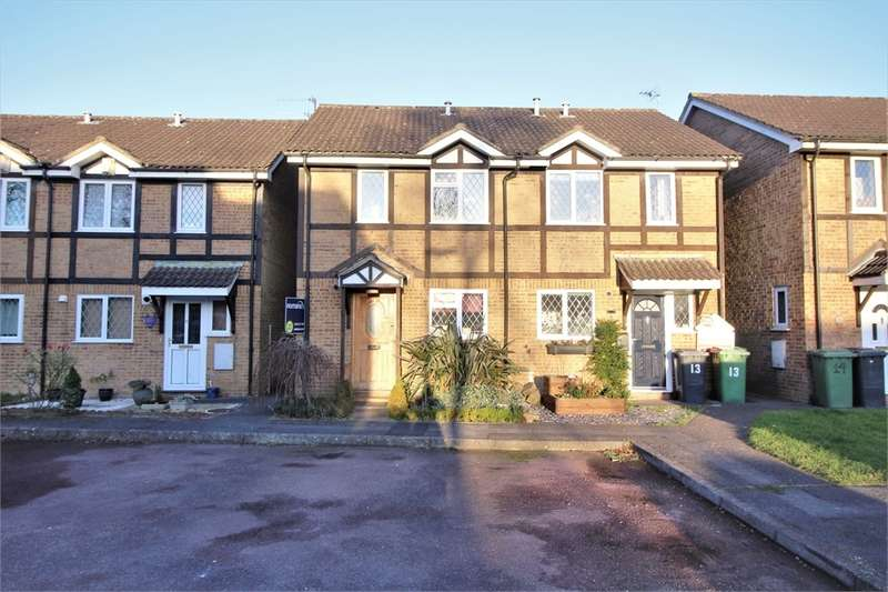 3 Bedrooms Semi Detached House for sale in Corinthian Close, BASINGSTOKE, Hampshire