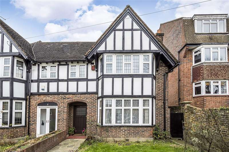4 Bedrooms Semi Detached House for sale in Woodfield Avenue, London, SW16