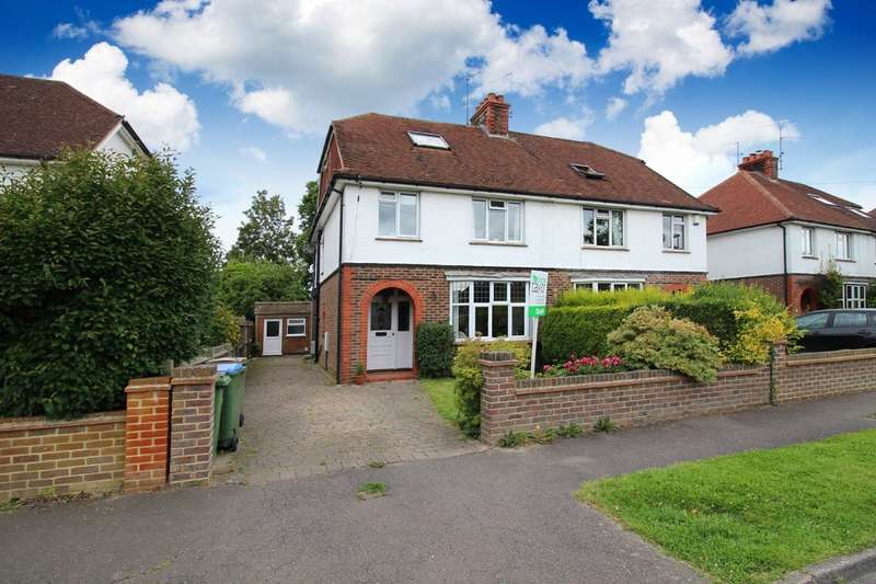 5 Bedrooms Semi Detached House for sale in Springfield Crescent, Horsham