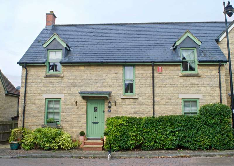 4 Bedrooms Semi Detached House for sale in The Old Brewery, Rode