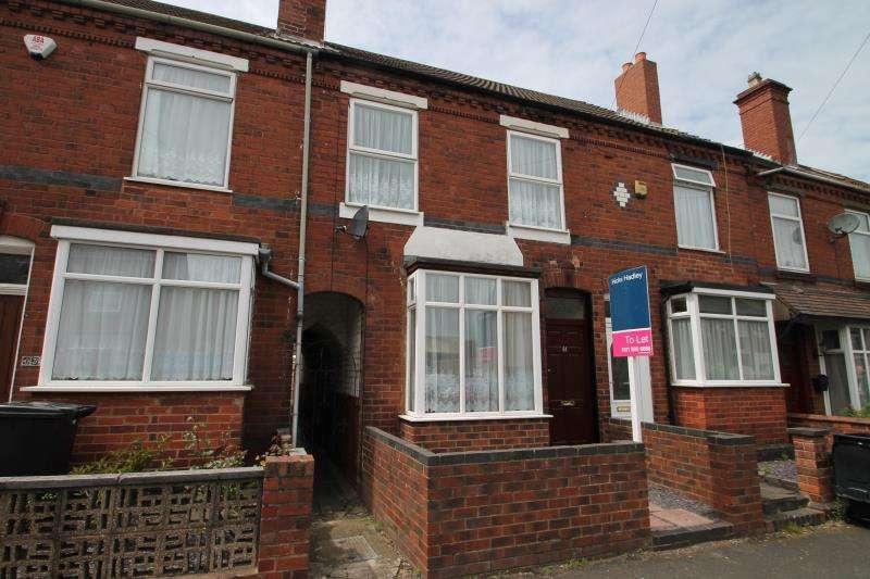 3 Bedrooms Terraced House for rent in Holt Road, Halesowen, West Midlands, B62