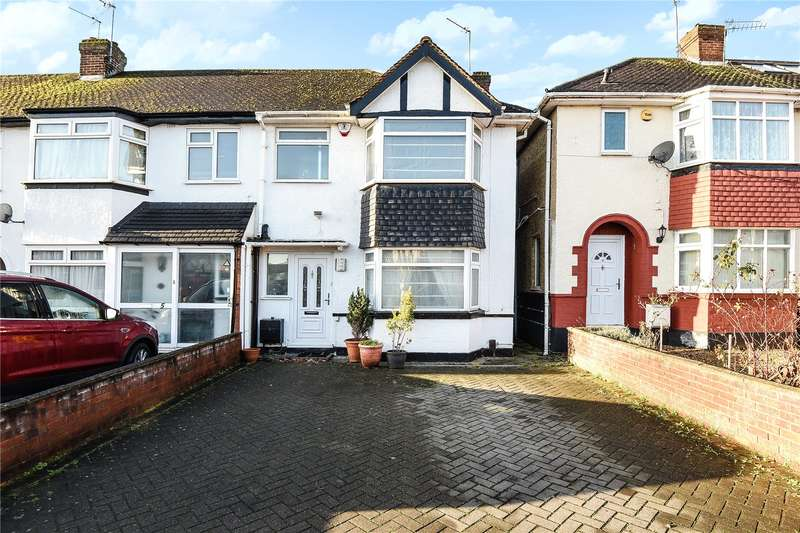 3 Bedrooms End Of Terrace House for sale in Stafford Road, Ruislip, Middlesex, HA4