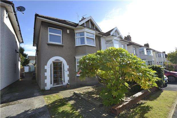 3 Bedrooms Semi Detached House for sale in Farington Road, Bristol, BS10 5BN