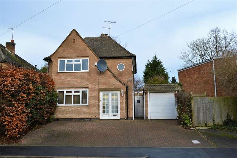 3 Bedrooms Detached House for sale in Uplands Road, Oadby, Leicester, LE2 4NW