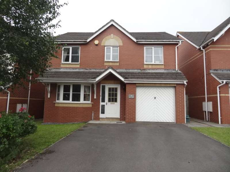 4 Bedrooms Detached House for sale in Heol Broadland, Barry
